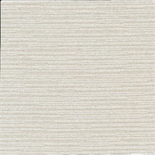Calloway Taupe Horizontal Stripes Commercial Wallpaper