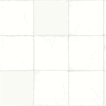 Capri Off-White Tiles Wallpaper