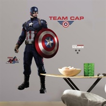 Captain America Civil War Giant Wall Decals