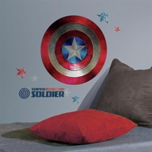 Captain America Shield Civil War Giant Wall Decals