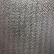 Carbon Pewter Honeycomb Geometric Wallpaper