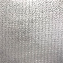 Carbon Silver Honeycomb Geometric Wallpaper