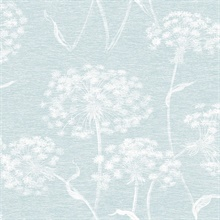 Carolyn Light Blue Dandelion