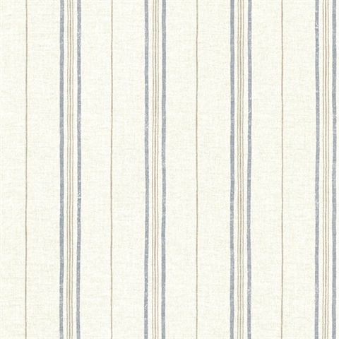 Catals Navy Grain Stripe