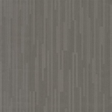 Charcoal Vertical Plumb Wallpaper