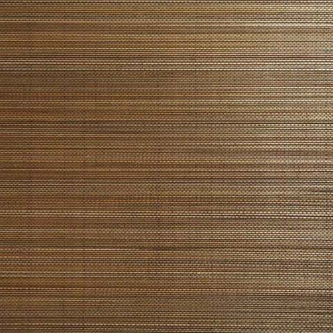 Chen Brown Grasscloth