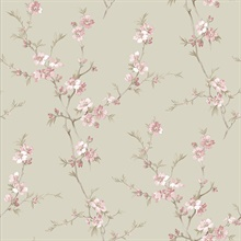 Cherry Blossom Pink Trail Wallpaper
