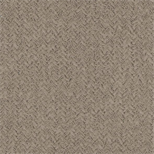 Chevron Taupe Commercial Wallpaper
