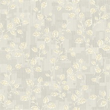 Child Light Grey Leaf Patchwork