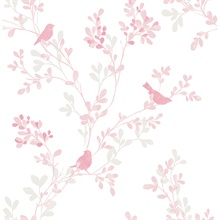 Chirp Pink Birds & Trees