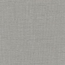 Chorus Dark Taupe Faux Textile Commercial Wallpaper
