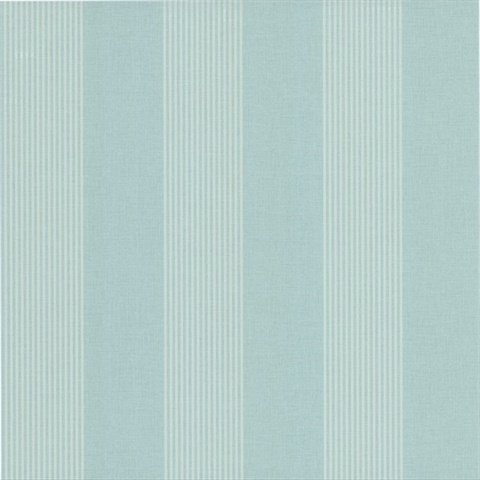 Christine Blue Alternating Stripe