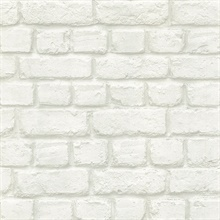 Chugach White Whitewashed Brick