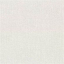 Claremont Light Grey Faux Grasscloth Vinyl Wallpaper