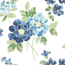 Claressa Blueberry Large Floral