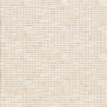 Clarice Beige Distressed Faux Linen Wallpaper