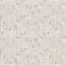 Clarice Taupe Distressed Faux Linen Wallpaper