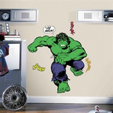 Classic Hulk Comic Giant Wall Decals