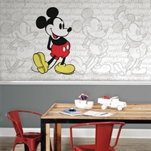 Classic Mickey XL Wallpaper Mural