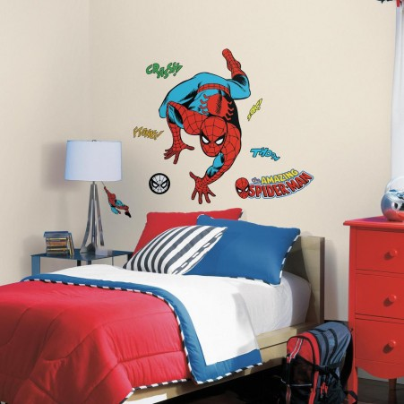 Classic Spider-Man Comic Giant Wall Decals