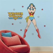 Classic Wonder Woman Giant Wall Decals