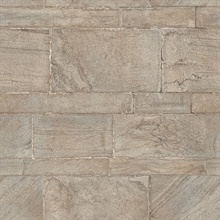 Clifton Platinum Sandstone Wallpaper