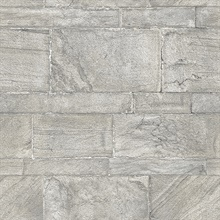Clifton Silver Sandstone Wallpaper