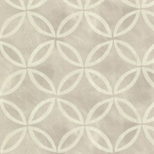 Cloverleaf Grey Geometric