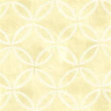 Cloverleaf Yellow Geometric