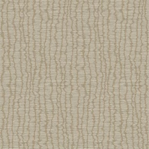 Coastal Moire Mocca Shine Type II 20oz Wallpaper