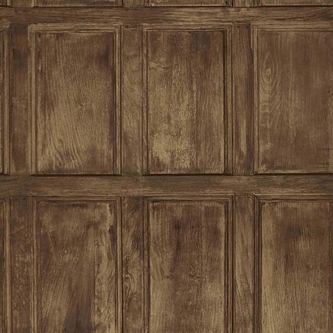Common Room Brown Wainscoting