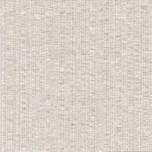 Cord String Beige Vertical Stria Commercial Wallpaper