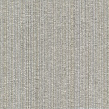 Cord String Gold & Grey Vertical Stria Commercial Wallpaper