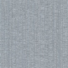 Cord String Silver & Grey Vertical Stria Commercial Wallpaper