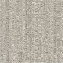 Cord String Taupe Vertical Stria Commercial Wallpaper