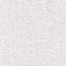 Cord String White Vertical Stria Commercial Wallpaper