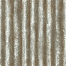 Corrugated Metal Grey Industrial Texture