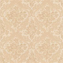 Cotswold Peach Floral Damask