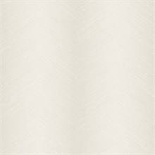 Cream Commercial Shibori Chevron Wallpaper