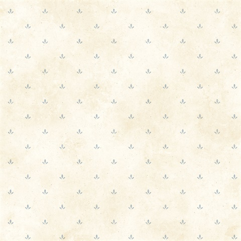 Cream Paw Print Wallpaper