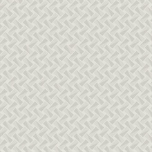 Cream Petite Pivots Geometric Wallpaper