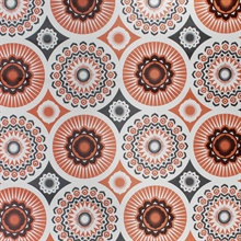 Darjeeling - Harvest Orange colourway wallpaper