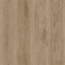 Dark Brown Wood Plank Wallpaper (20 Oz Type II Fabric Backed Vinyl)