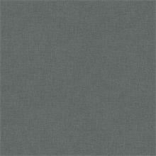 Dark Grey Faux Linen Wallpaper