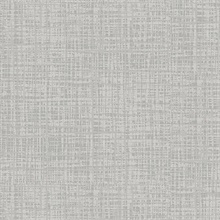 Dark Grey Thatched Textured Faux Finish Wallpaper