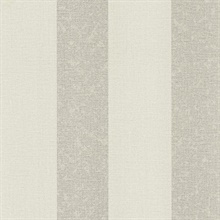 Dash Light Grey Linen Stripe