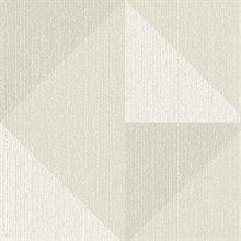 Diamond Grey Tri-Tone Geometric Wallpaper