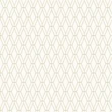 Diamond Lattice Wallpaper - Gold