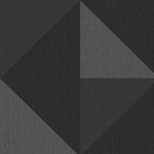 Diamond Silver Tri-Tone Geometric Wallpaper