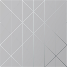 Diamonds Grey Geometric Wallpaper